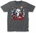 Captain America Civil War Clash fitted jersey tee heavy metal mens pre-order