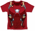 Captain America Civil War Iron Man CW Suit big print subway tee red mens pre-order