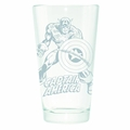 Captain America Etched Pint Glass pre-order