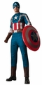 Captain America Retro Suit muscle chest adult costume
