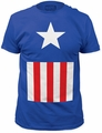 Captain America Suit Fitted Jersey t-shirt