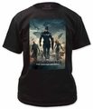 Captain America t-shirt The Winter Soldier Poster with Nick Fury mens black pre-order