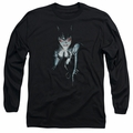Catwoman adult long-sleeved shirt #685 Cover black
