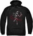 Catwoman pull-over hoodie Kitten With A Whip adult black
