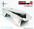 Chronicle Syd Mead Hypervan Chrome Statue pre-order