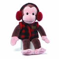Curious George 14-Inch Vest With Ear Muffs Plush pre-order