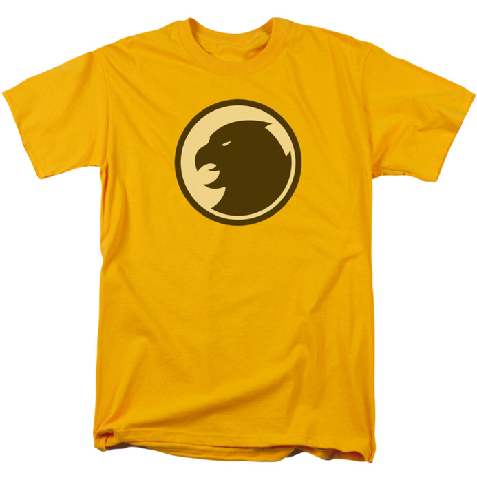 Yellow Hawkman Logo T-Shirt, Sizes: S - 5XL