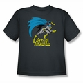 Batgirl youth teen t-shirt Is Hot charcoal