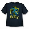 DC Comics youth teen t-shirt Dr Fate Ankh navy