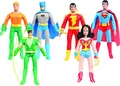 DC Justice League 8-Inch Retro Action Figure Series 1 Set of 6 pre-order