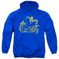 DC  pull-over hoodie One Color Fate adult Royal Blue
