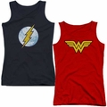 DC Universe Juniors tank tops
