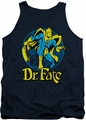 DC Universe tank top Dr Fate Ankh mens navy