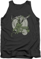 DC Universe tank top Green Arrow Right On Target mens charcoal