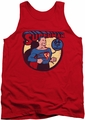 DC Universe tank top Superman Cover 64 mens red