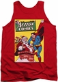 DC Universe tank top Superman Cover No. 105 mens red