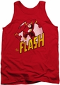 DC Universe tank top The Flash mens red