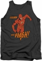 DC Universe tank top The Flash Whirlwind mens charcoal