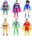 DC Worlds Greatest Hero 8-Inch Retro Action Figure Series 1 Set of 6 pre-order