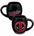 Deadpool 18 oz. Oval Ceramic Coffee Mug