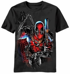 Deadpool Deadbaton t-shirt men black