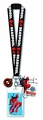 Deadpool Lanyard With Pvc Dangle pre-order