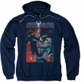 Deadworld pull-over hoodie Temple Of Doom adult navy