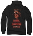 Deadworld pull-over hoodie The King adult black