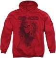 Deadworld pull-over hoodie Zombie adult red