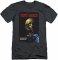 Deadworld slim-fit t-shirt Issue 1 mens charcoal