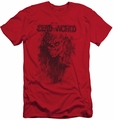 Deadworld slim-fit t-shirt Zombie mens red