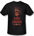 Deadworld t-shirt King Zombie mens black