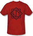 Deadworld t-shirt Kneel Symbol mens red