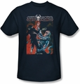 Deadworld t-shirt Temple of Doom mens navy