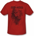 Deadworld t-shirt Zombie mens red