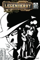Df Legenderry A Steampunk Adv #2 Fat Jacks B&W Cover comic book pre-order