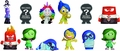 Disney Pixar Inside Out Mystery Minis 12-Piece Blind Box Display pre-order