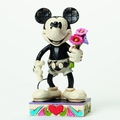 Disney Traditions B&W Mickey For My Gal Figure pre-order