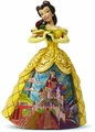 Disney Traditions Belle With Castle Dress Figurine pre-order