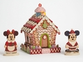 Disney Traditions Gingerbread House Micky Minnie Mouse pre-order