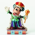 Disney Traditions Mickey King For A Day Fig pre-order