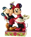 Disney Traditions Mickey/Minnie Mistletoe Figurine pre-order
