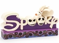 Disney Traditions Nightmare Before Christmas Spooky Word Plaque pre-order