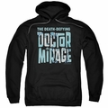 Doctor Mirage pull-over hoodie Character Logo adult black