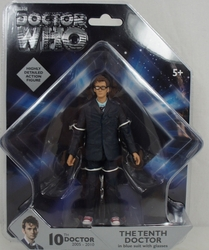 Doctor Who 10Th Doctor 5-Inch Action Figure Blue Suit Version