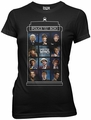 Doctor Who 11 Doctors juniors t-shirt