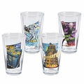 Doctor Who 4 pc. 16 oz. Glass Set pre-order