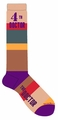 Doctor Who 4Th Doctor Scarf Knee High Socks pre-order