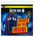 Doctor Who Bigger Inside Flex Car Magnet 3-Pack pre-order