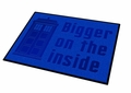 Doctor Who Bigger On The Inside Welcome Mat pre-order
